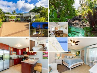 $960/NT Special May 2nd~9th Ocean View Beach House and Cottage Pool~ Hot Tub, Waimanalo