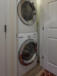 In Unit Laundry Closet
