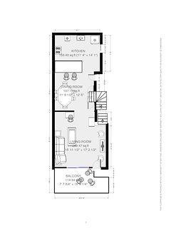 Floor plan for 2nd Floor