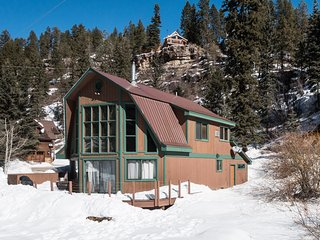 Double J Cabin in the winter