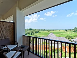 Sea View from Sawah Villa C2, 2Br