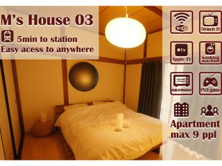 Japan tokyo otaku 5min walk Station Free Wi-Fi Designed JapaneseStyle M'sHouse03