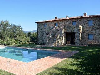 6 bedroom Villa in Montegiovi, Val d orcia, Tuscany, Italy : ref 2383118, Seggiano