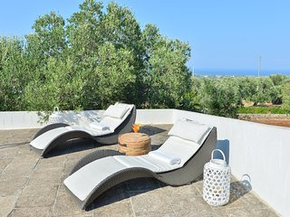 Belvedere- Puglia holiday villa - sea view from the terrace