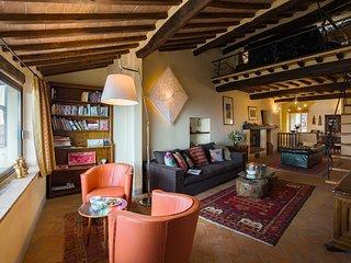 Dolce Vita: apartamento refinado en Cortona