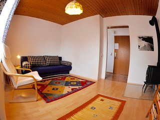cosy 2 room apartment close to the historical center, private parking, wifi