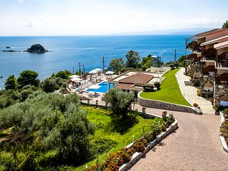 La Luna Hotel Double Studio With Extraordinary Sea View, Troulos