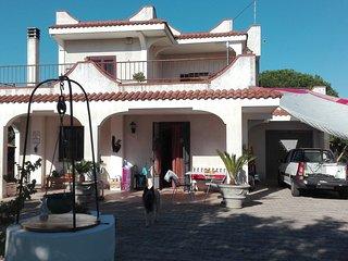 Ferienwohnung in schöner Villa (1 Etage) auf dem Land