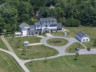 Aerial View of the B&B