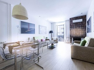 Gran Via 6 apartment in Gran Via with WiFi, airconditioning, privedakterras