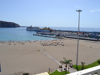 Super Terrace Penthouse Cristianos beach  First line Ocean views 100% SUN&Relax