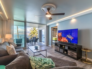 ★Stylish Home On The Beach★  Epic Sunsets|Heated Pool|Turtles|Royal Mauian 509, Kihei