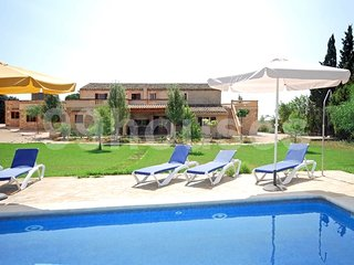 8 bedroom Villa in Manacor, Balearic Islands, Spain : ref 5334096