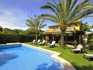 5 bedroom Villa in Alcudia, Balearic Islands, Spain : ref 5334029