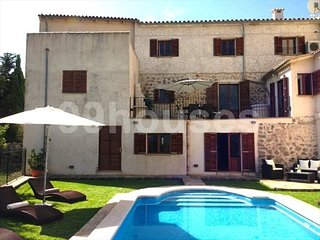 Spacious house in the village with panoramic views