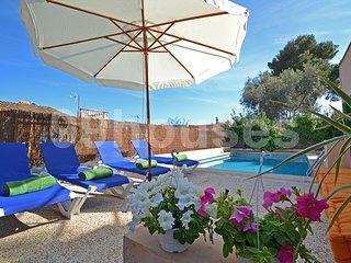4 bedroom Villa in Calvia, Balearic Islands, Spain : ref 5345606