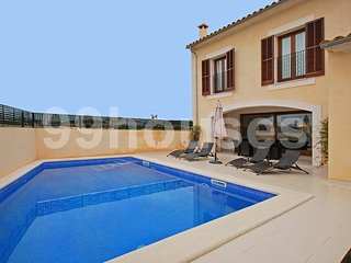 Modern attached house with pool, Sa Coma