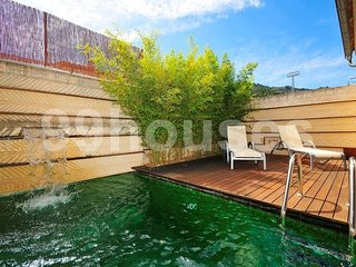 Modern house in the village with pool, Inca