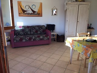 Appartamento con terrazza panoramica e barbecue, Rena Majore