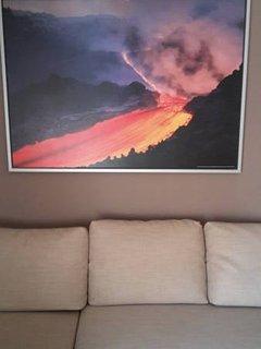 quadro foto Etna in eruzione