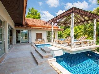 Elegant 4-Bed Hillside Villa in Kata