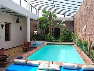 CAP SIM HOUSE - Ouassen ESSAOUIRA - Riad 400m2 - 6 chambres avec piscine