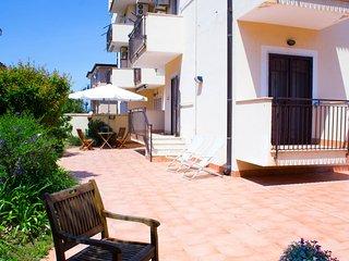 Casa con giardino, Sperlonga