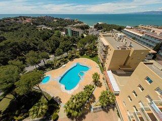 Apartamento con vista al mar en Cap Salou