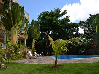 2-bedroom room on a large villa! Swimming Pool! Ocean view! Tropical garden.