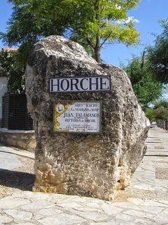 Entrada de Horche