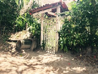 Charmosa casa de pescador em Moreré