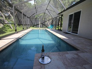 Our 30ft Pool with cage
