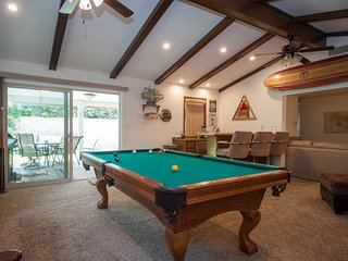 Family Game Room with Wet Bar, San Diego