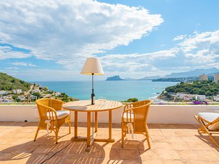Lujosa Villa con maravillosas vistas al mar.