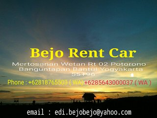 Bejo Rent Car, Bantul