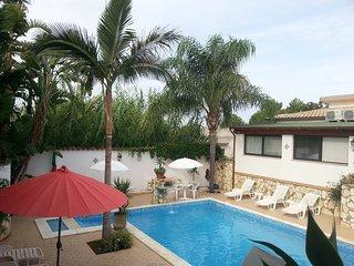Casa vicino la spiaggia con piscina, Balestrate