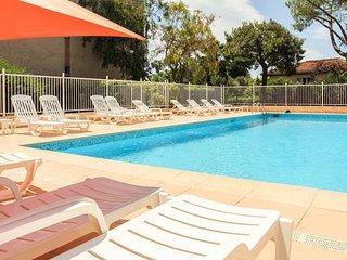 1 bedroom sea view/parking/pool, Nice
