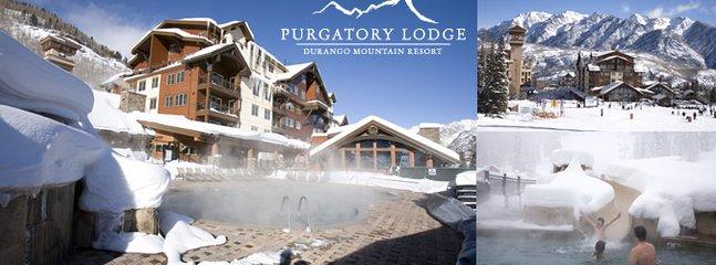 Purgatory Ski  Resort is only 6 miles away .
