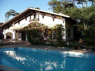 Villa avec piscine entre lac d'hossegor et océan (les estagnots), Seignosse