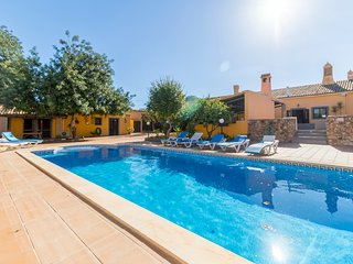 V7 Barrocal - 7 bedrrom, private heated covered pool, A/C and snooker