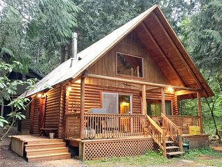 Mt. Baker Rim Family Cabin #17 - FIREPLACE, BBQ, PETS OK, W/D, WIFI*, SLEEPS-8!