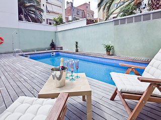 Penthouse in Gracia Pool and Terrace