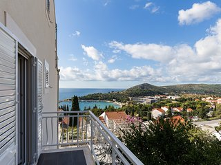 Apartments Villa Enzian-Standard Two Bedroom Apartment with Terrace and Sea View
