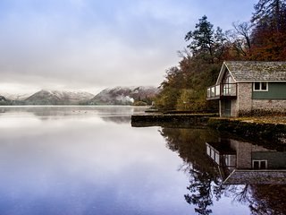 Lake District Ullswater Far Boathouse