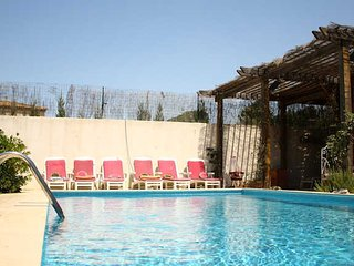 Maison Belarga large villa Languedoc with private pool sleeps 12