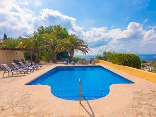 Villa Romani  en Benissa,Alicante,para 8 huespedes
