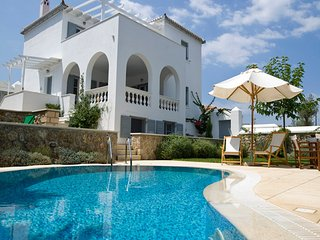 Melina luxurious -private pool- villa in Spetses (220 sq.m.) near the sea