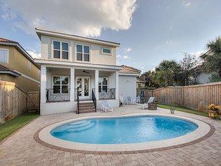 Custom Beach House w/ Private Pool - Short Walk to the Beach!
