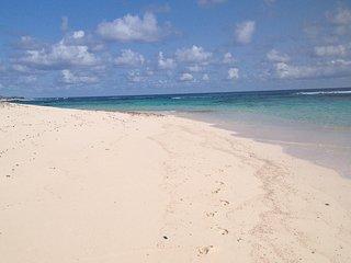 ISLAND DREAMS BEACH HOUSE!!!  ~1BED/BATH~ PRIVATE GAZEB0, WIFI, ROKU, AC, GRILL