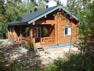 Ferienhaus 'Pihlajapelto' mit Sauna, Nationalpark Koli